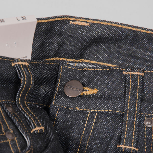 Carhartt Klondike Pant Jeans - Blue Rigid Button