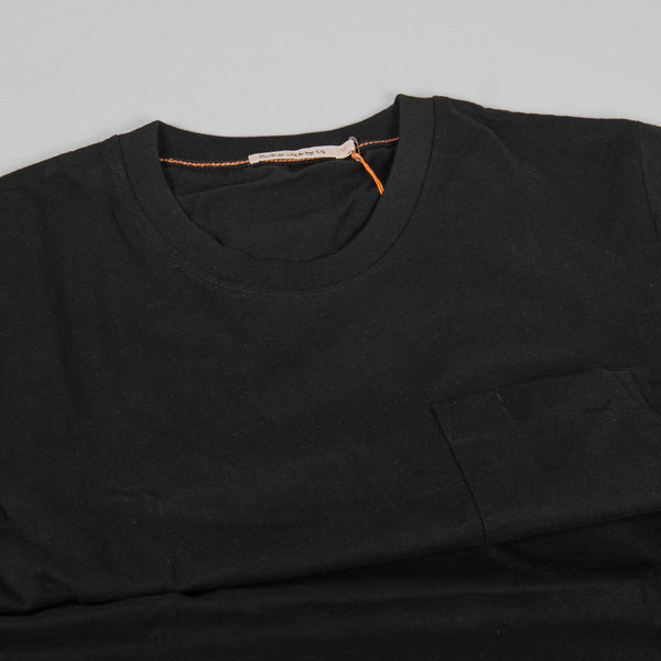 Nudie Kurt Worker Tee - Black 4