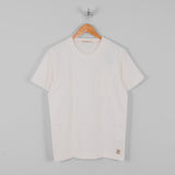 Nudie Kurt Worker Tee - Off White 1