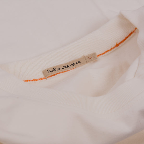 Nudie Kurt Worker Tee - Off White 3