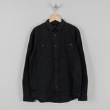 Edwin Labour Double Black Shirt - Black Denim 1