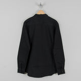 Edwin Labour Double Black Shirt - Black Denim 3