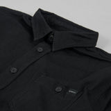 Edwin Labour Double Black Shirt - Black Denim 2