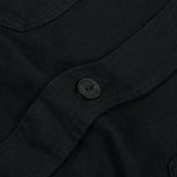 Edwin Labour Double Black Shirt - Black Denim 4