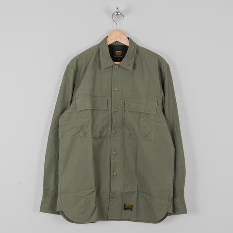 Carhartt L/S Laxford Shirt - Dollar Green Rinsed 1