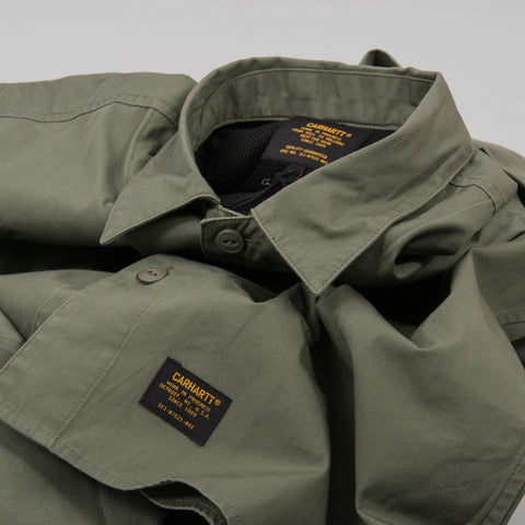 Carhartt L/S Laxford Shirt - Dollar Green Rinsed 2
