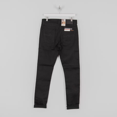 Nudie Lean Dean Jean - Dry Ever Black