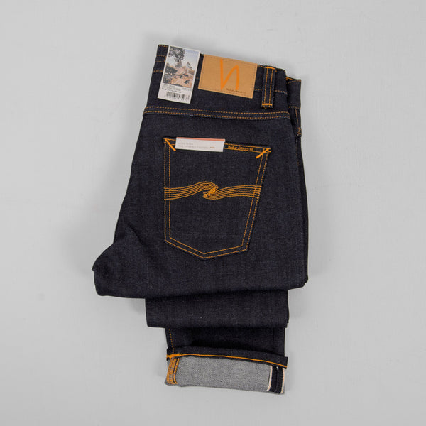 Nudie Lean Dean Dry Japan Selvage - Indigo 2