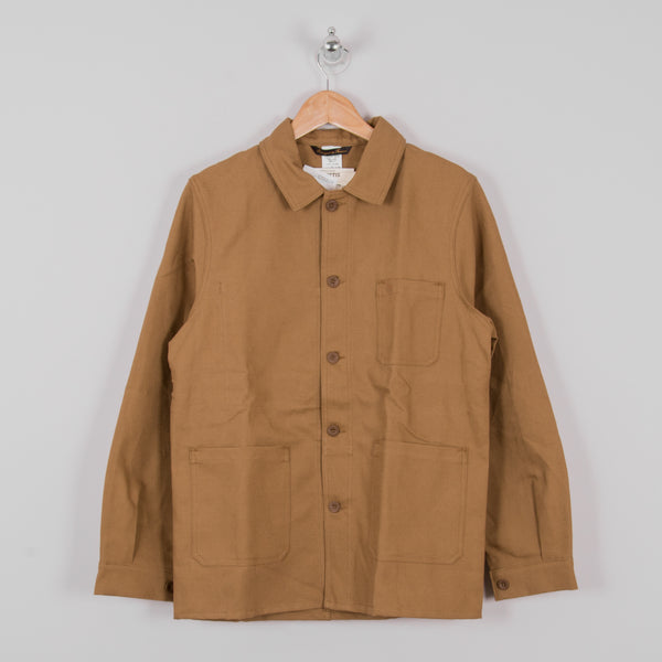 Le Laboureur Linen Work Jacket - Sand 1