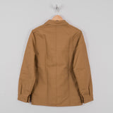 Le Laboureur Linen Work Jacket - Sand 2