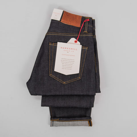 Hawksmill Denim Co Loose Tapered 14oz Organic - Dry 3