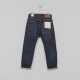 Hawksmill Denim Co Loose Tapered Jeans - Dark Wash Back
