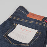 Hawksmill Denim Co Loose Tapered Jeans - Dark Wash Pocket