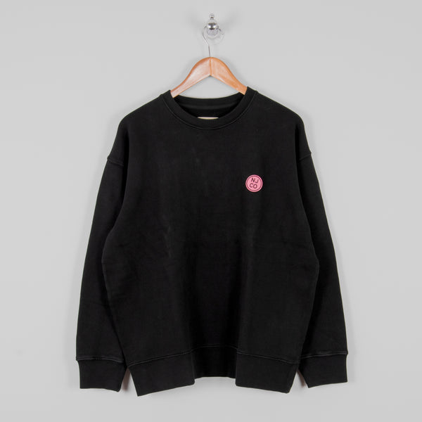Nudie Lukas Logo Sweatshirt - Black 1