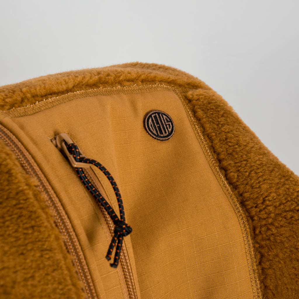 Deus Ex Machina Mackay Fleece - Bistre Tan  2
