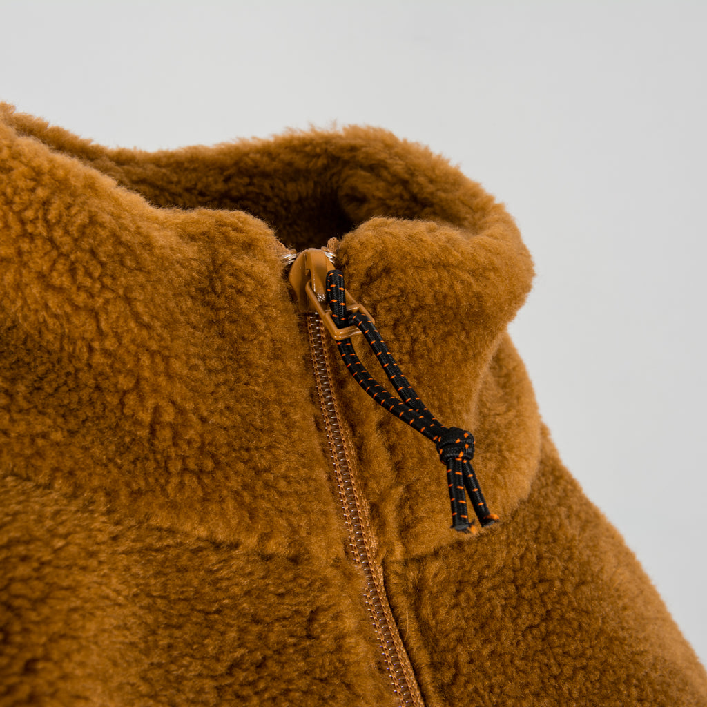 Deus Ex Machina Mackay Fleece - Bistre Tan 4