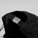 Carhartt WIP Madison Logo Cap - Black / White 3