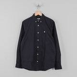Carhartt Madison L/S Shirt - Dark Navy / Wax