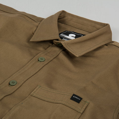 Edwin Major Shirt - Martini Olive 2