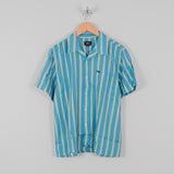 Obey S/S Market Stripe Woven Shirt - Blue Multi 1