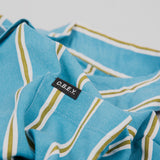 Obey S/S Market Stripe Woven Shirt - Blue Multi 2