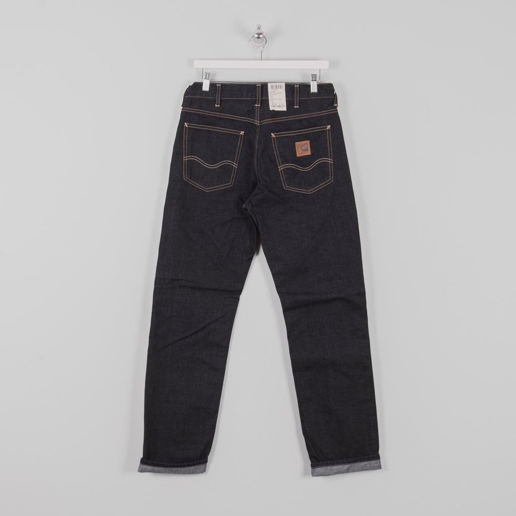 Carhartt Marlow Pant Jeans - Blue Rinsed Back 1