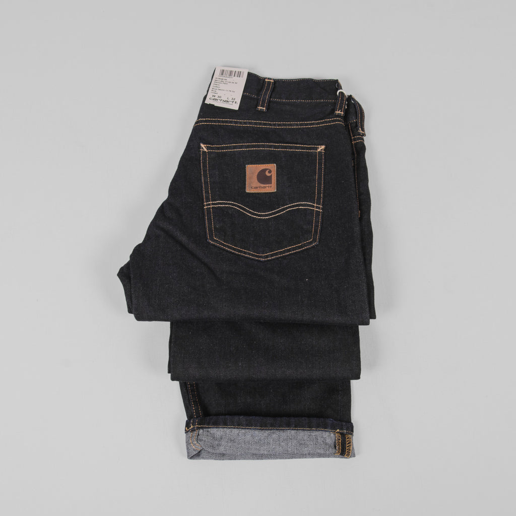Carhartt Marlow Pant Jeans - Blue Rinsed Detail 2