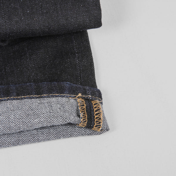 Carhartt Marlow Pant Jeans - Blue Rinsed Roll Up 4
