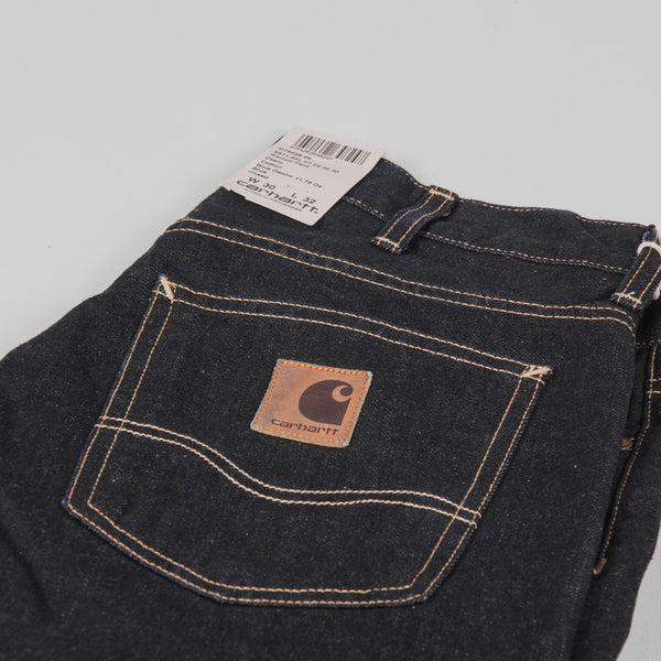 Carhartt Marlow Pant Jeans - Blue Rinsed Pocket 5