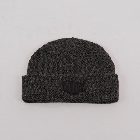 Deus ex Machina Melange Beanie - Phantom 1