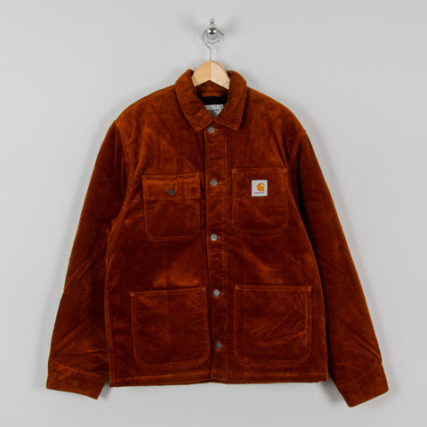 Carhartt WIP Michigan Corduroy Chore Coat - Brandy 1