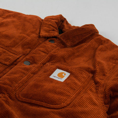 Carhartt WIP Michigan Corduroy Chore Coat - Brandy 2