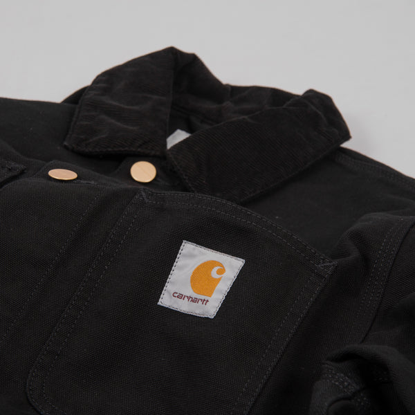 Carhartt Michigan Rinsed Chore Coat SS19 - Black 2