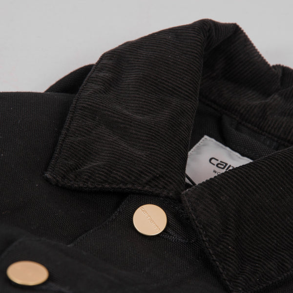 Carhartt Michigan Rinsed Chore Coat SS19 - Black 4