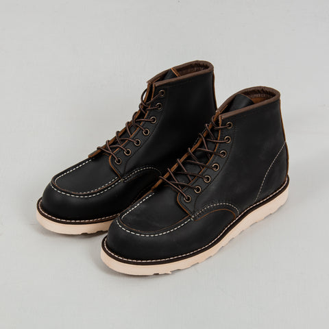 Red Wing Classic Moc Toe Boot 8849 - Black 1