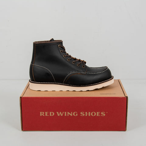 Red Wing Classic Moc Toe Boot 8849 - Black 2