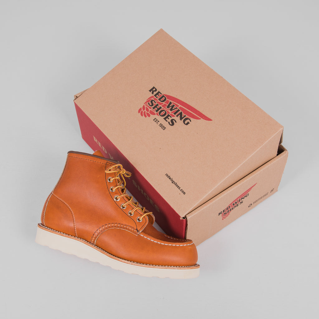 Red Wing Classic Moc Toe Boot 0875 - Oro Legacy