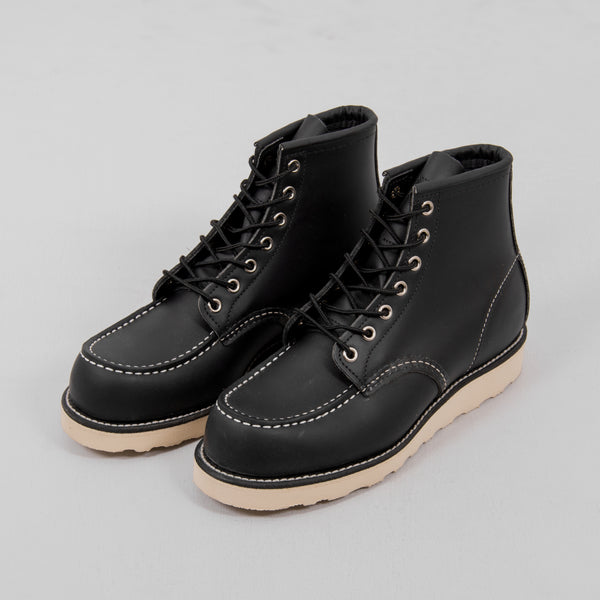 Red Wing Classic Moc Toe Boot 8130 - Black 1