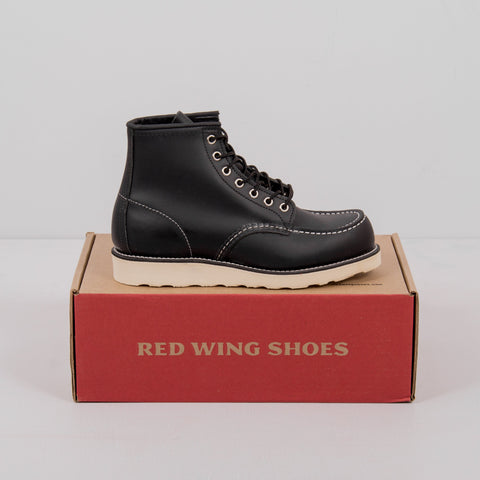 Red Wing Classic Moc Toe Boot 8130 - Black 2