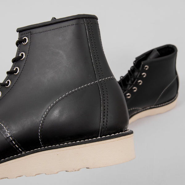 Red Wing Classic Moc Toe Boot 8130 - Black 4