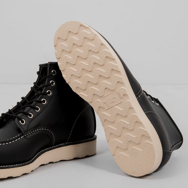 Red Wing Classic Moc Toe Boot 8130 - Black 5