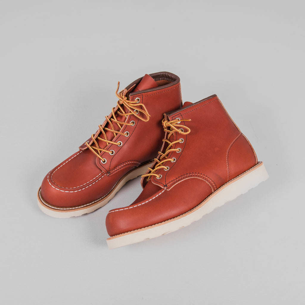 Red Wing Classic Moc Toe Boot 8131 - Oro Russet