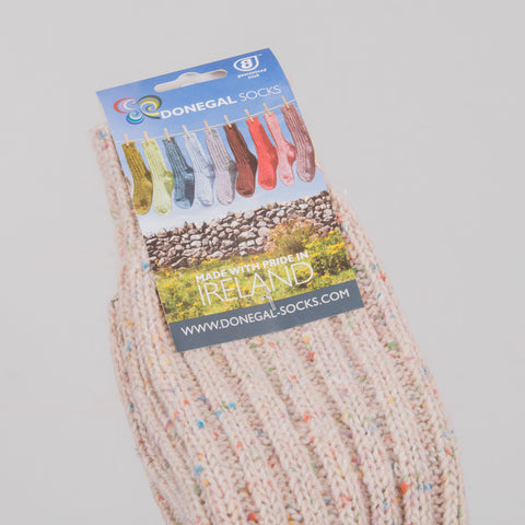Donegal Socks in traditional Wool - 301 Multi 2