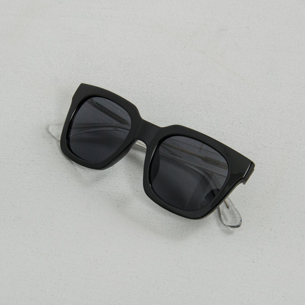 A Kjaerbede Nancy KL1912-1 Sunglasses - Black / Crystal 3