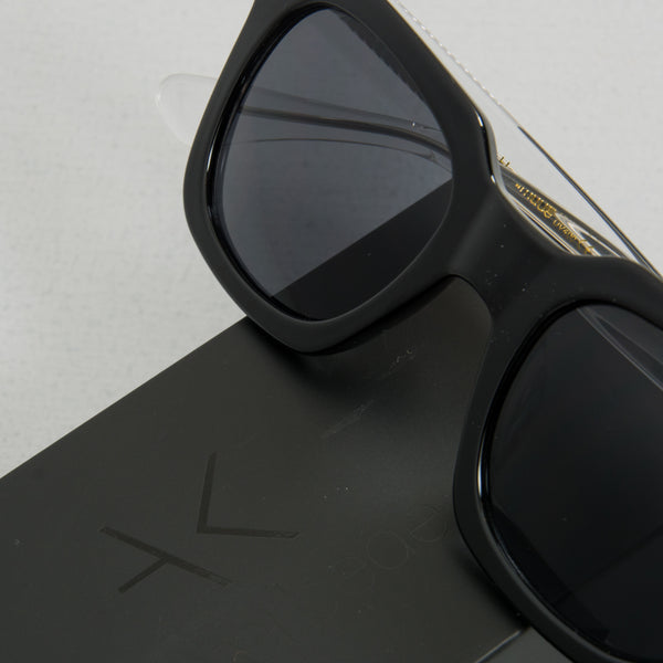 A Kjaerbede Nancy KL1912-1 Sunglasses - Black / Crystal 2