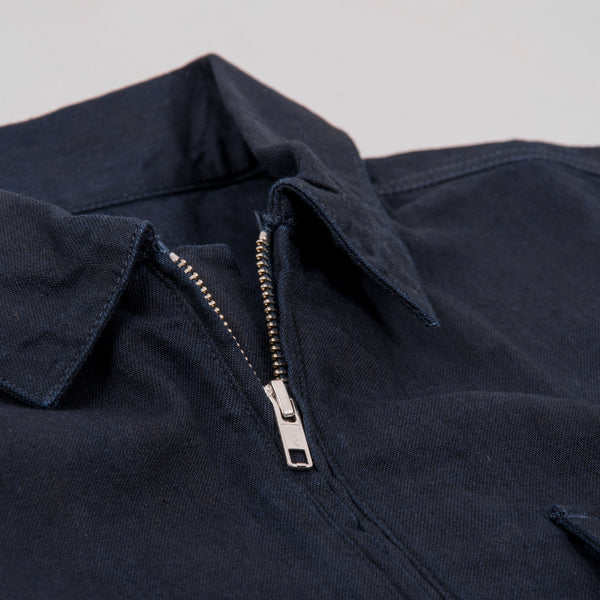 Edwin Naval Popover Shirt - Cloud Selvedge Indigo Rinsed 4
