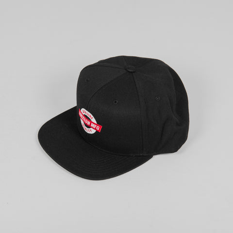 Brixton Pearson Mesh Snapback Cap - Red / White Front
