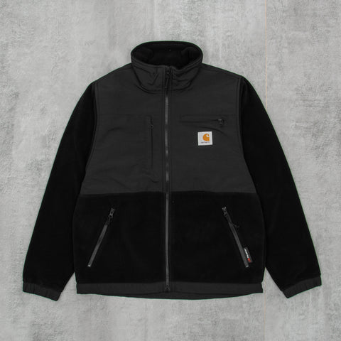 Carhartt WIP Nord Fleece Jacket - Black1