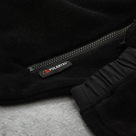 Carhartt WIP Nord Fleece Jacket - Black2