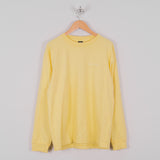 Obey L/S Novel Obey 3 Tee - Lemon 1